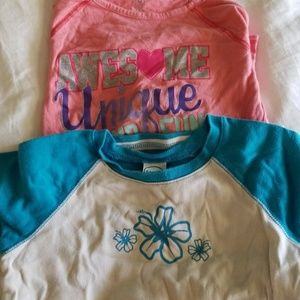 2 Tops - Girls Size 7 8